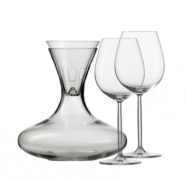 4-Piece Diva Decanter Set