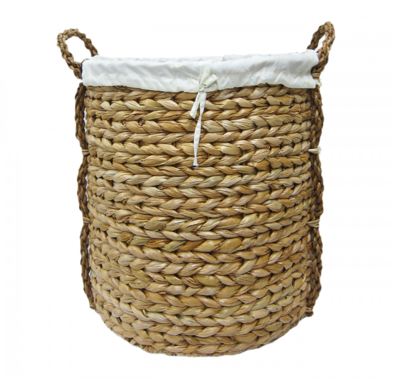 Large Round Rope Hamper