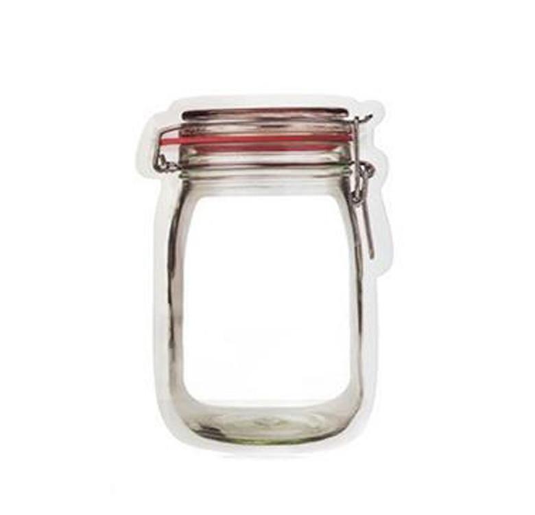 Zipper Bags (Mason Jar)