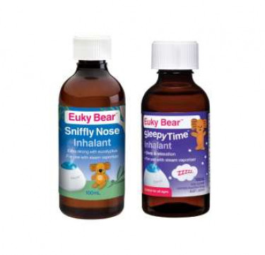 Euky Bear Inhalant + Sleepy Time Inhalant Bundle