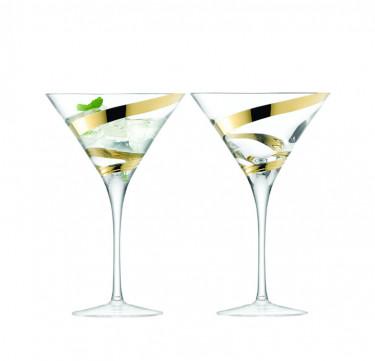 Malika Grand Cocktail Glass Set of 2