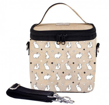 Small Cooler & Lunch Bag (Bunny Tile)
