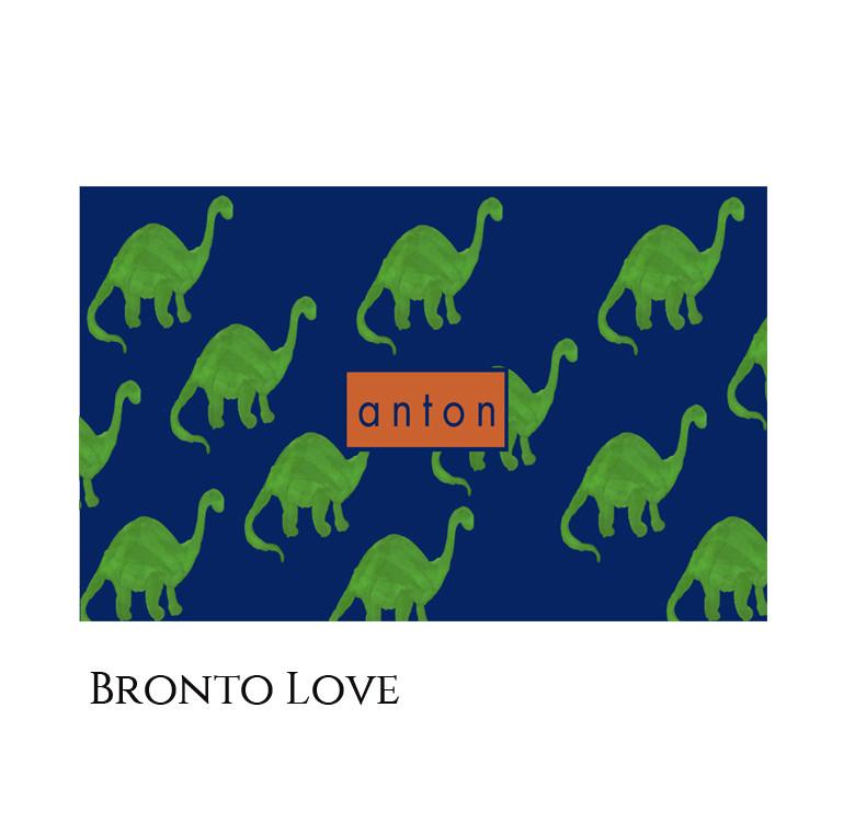 Personalized Kids Storage Bin - Bronto Love