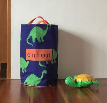 Personalized Kids Storage Bin - Bronto Love
