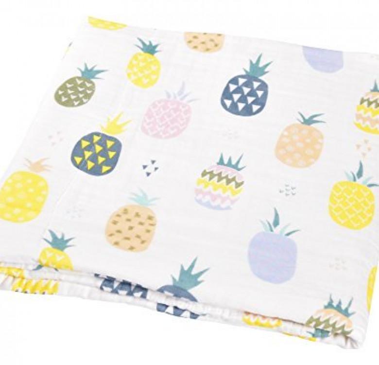 Pineapple Melange Muslin