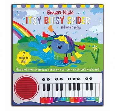 Itsy Bitsy Spider Piano Book