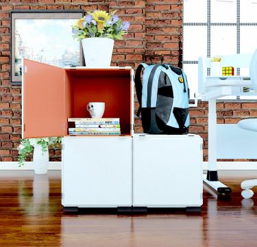 Modular Cabinet Set 16 - Multi-Colored