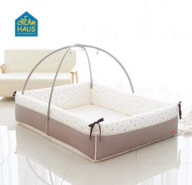 Milk Brown Inua Bumper Bed