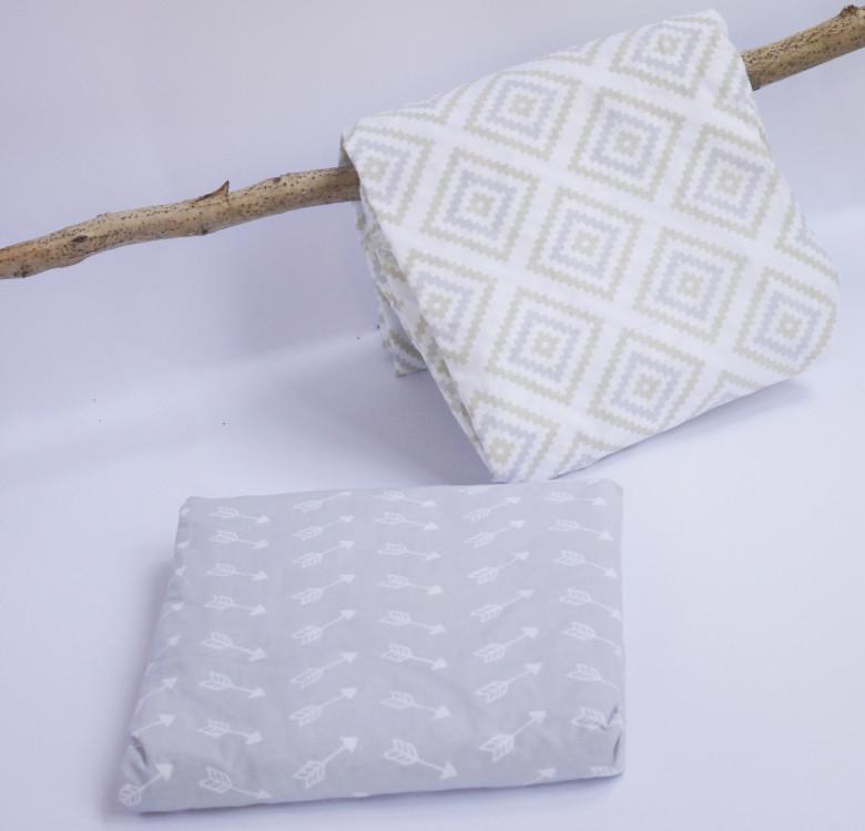 Diamonds Fitted Crib Sheet