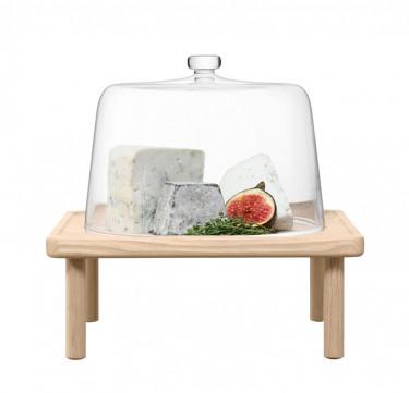 25cm Stilt Cheese Dome & Ash Stand