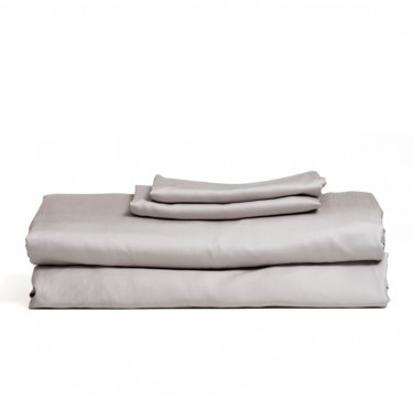 3-Piece Premium Bamboo Luxury Sheet Set (Gray)