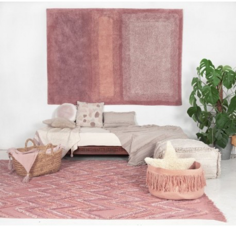 Water Canyon Rose Washable Rug
