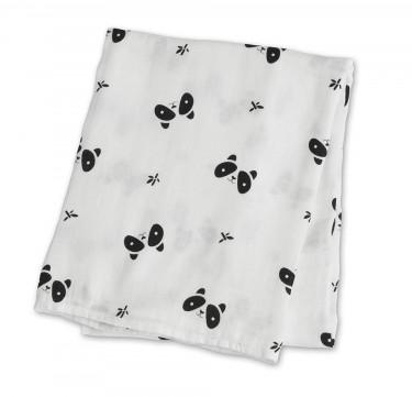 Panda Bamboo Swaddling Blanket