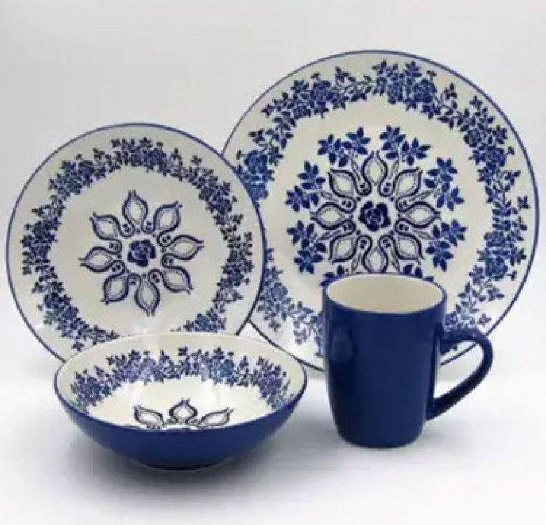 16-Piece Hanna Stoneware Dinner Set
