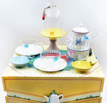 Fancy Tea Set (Tearoom Chat)