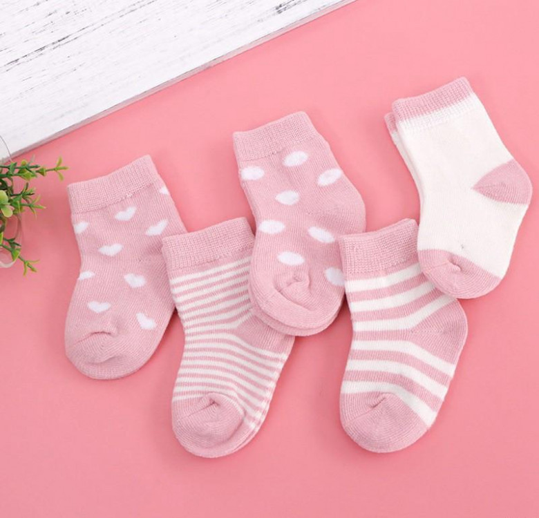 Little Lady Bo Peep Socks (Set of 5)