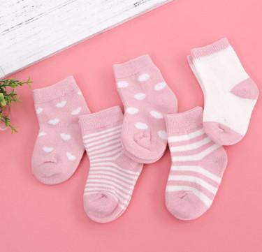 Little Lady Bo Peep Socks (Set of 5)