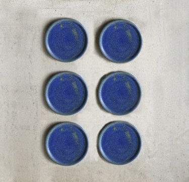 Stoneware Coaster Set of 8