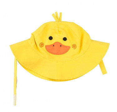 UPF50+ Baby Sun Hat - Puddles the Duck