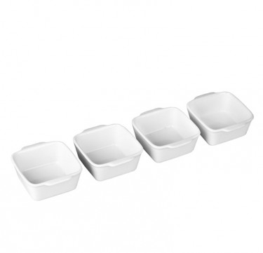 4-Piece Square Serving Set