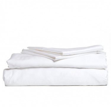3-Piece Premium Bamboo Luxury Sheet Set (White)