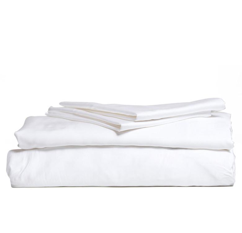 3-Piece Premium Bamboo Luxury Sheet Set (White)