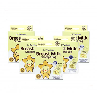 BPA-Free Breast Milk Storage Bag 25's (Bundle of 6 +1 Free)