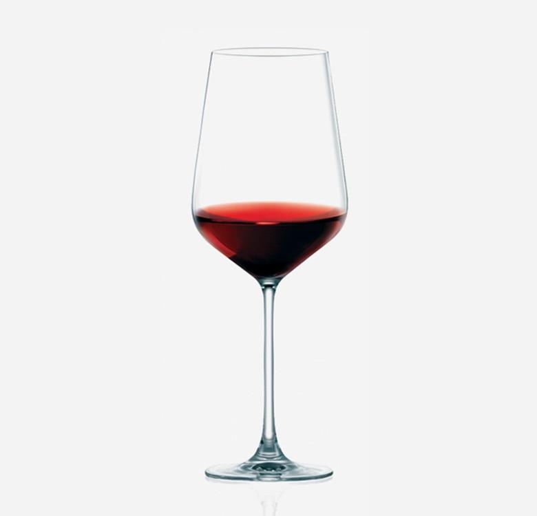 Hongkong Hip Bordeaux Wine Glasses Set of 6