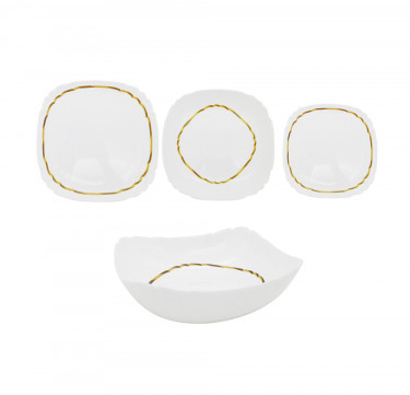 Lotusia Elen 19-Piece Dinner Set