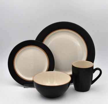 16-Piece Kensington Coffee Dinnerware Set