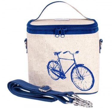 Large Cooler Bag (Blue Bicycle)