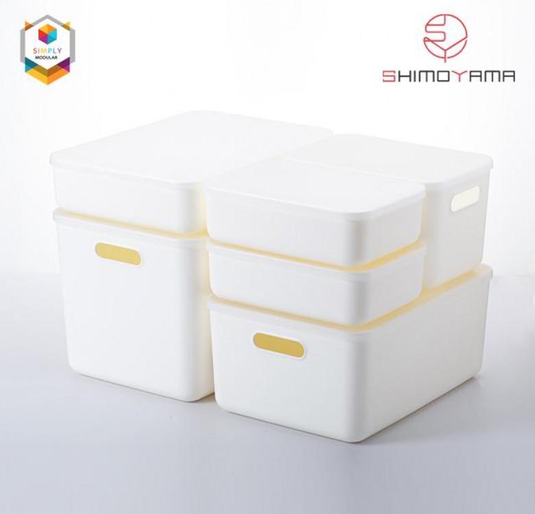 Shimoyama Handled Storage Box with Lid (Small)