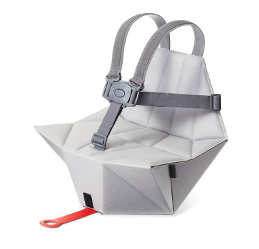 Pop-up booster + Carry Bag (Pebble Grey)