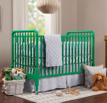 Limited Edition Jenny Lind Crib 3-in-1 Convertible Crib with Toddler Rail Conversion Kit