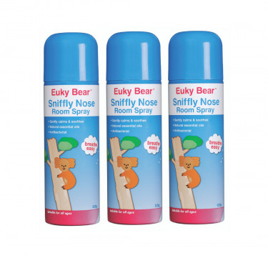 Sniffly Nose Room Spray (Antibacterial) Bundle of 3