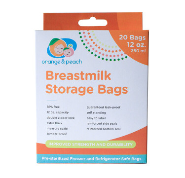 12oz. Breastmilk Storage Bags