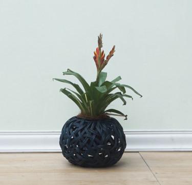Midnight Blue Tinali Orchid Pot