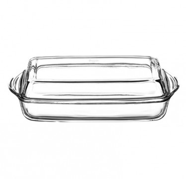 Rectangular Casserole with Cover