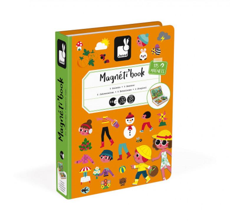 4 Seasons Magneti' Book