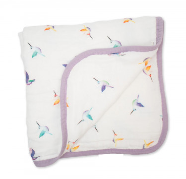 Hummingbird Childhood Quilt