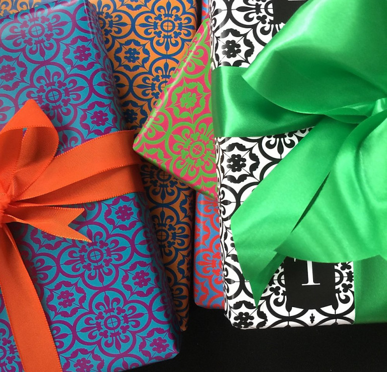 Personalized Wrappers & Gift Card Set (Designs Available)