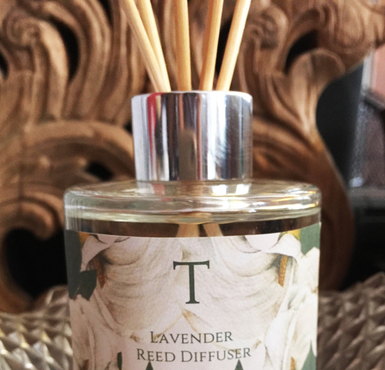 Personalized Lavender Reed Diffuser