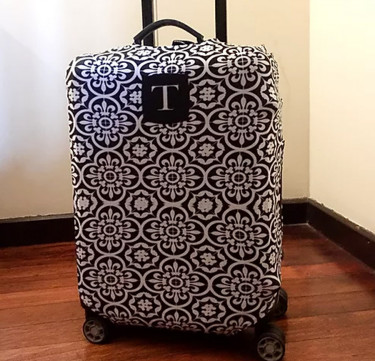 Personalized Luggage Cover (Designs Available)