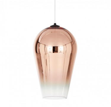 Adra Copper Faded Glass Pendant Light