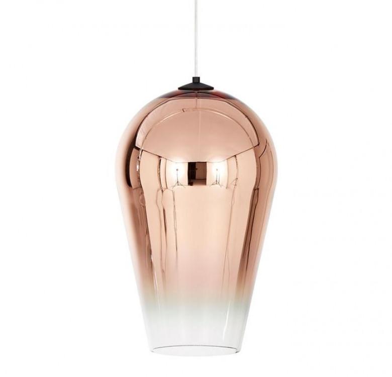 Adra Copper Faded Glass Pendant Light