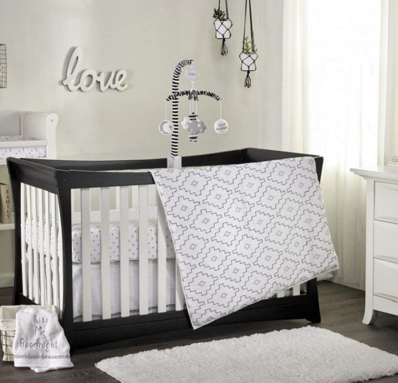 3-Piece Phoenix Crib Comforter Set
