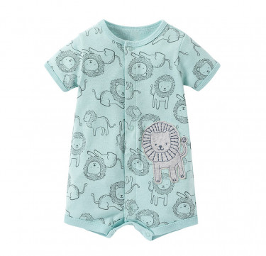 Leo the Lion SS Romper