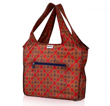 ALL Foldable Zippered Tote (Spruce)