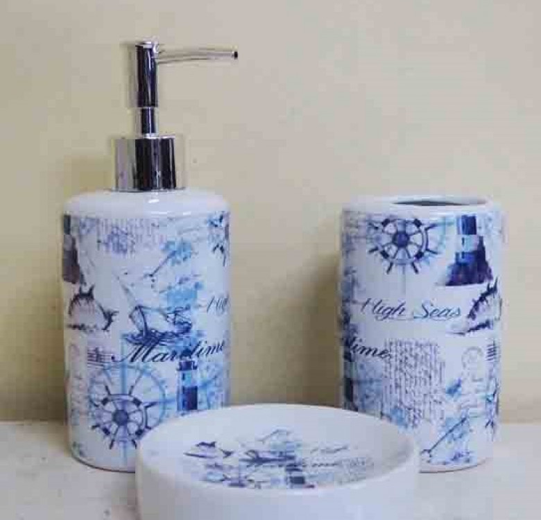 Bath Tower Ceramic Set