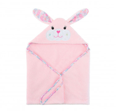 Beatrice the Bunny Baby Hooded Towel